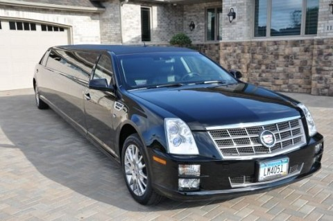 2008 Cadillac STS Stretch Limo for sale