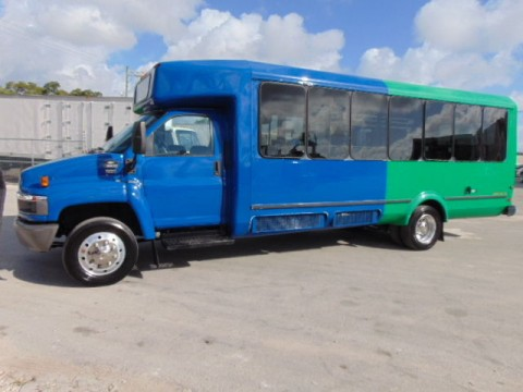 "2008 Chevy C 5500 ""EL Dorado"" MINI Shuttle LIMO BUS for sale"