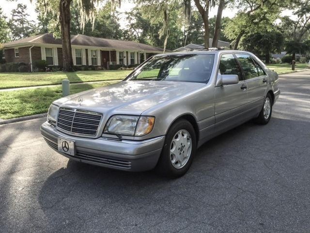 1995 mercedes benz s class 420 s long wheel base for sale. Black Bedroom Furniture Sets. Home Design Ideas