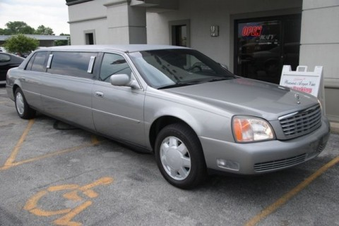 2000 Cadillac DTS Limo for sale