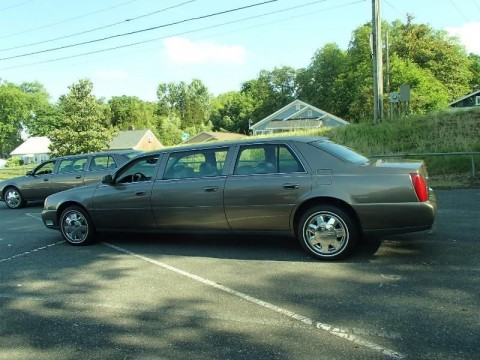 2001 Cadillac Deville Funeral Hearse Limo Seats 9 for sale