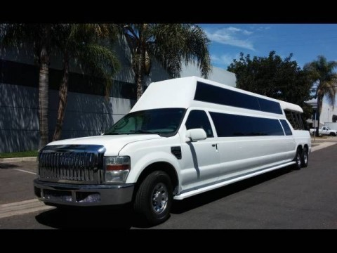2004 Ford Excursion F250 220″ Double Deck Limousine for sale