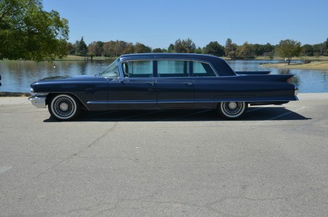 "1962 Cadillac Fleetwood Factory Limo ""Show Car"" for sale"