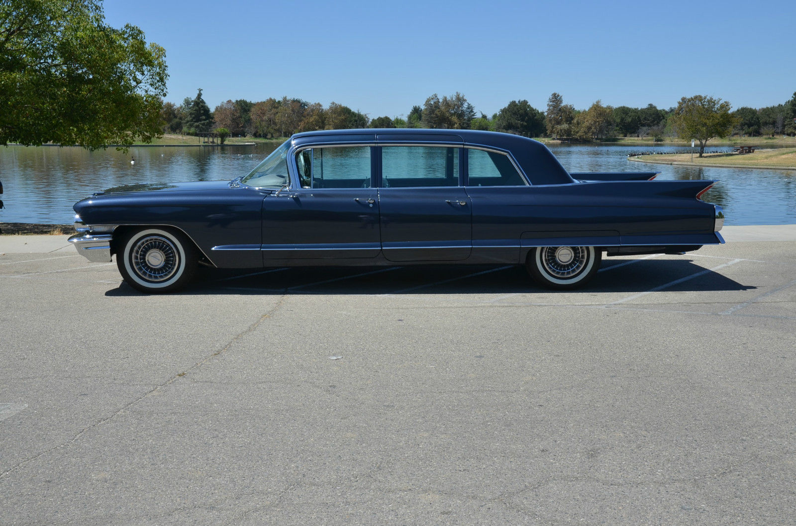 Cadillac fleetwood factory limo show car limousines for sale