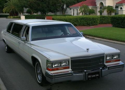 1986 Cadillac Fleetwood Brougham D'elegance   34K MI for sale