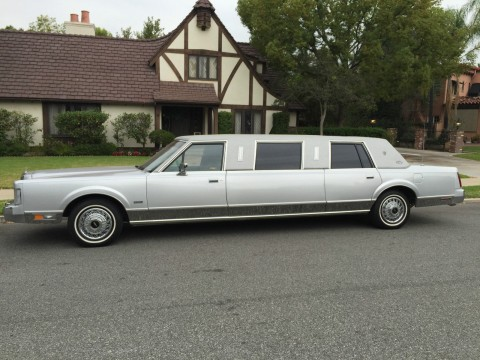 1987 Lincoln Town Car ST Tropaz Limousine for sale