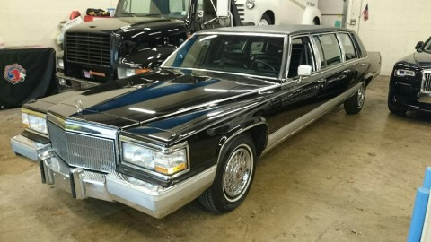 1992 Cadillac Fleetwood Brougham 6 Door Stretch Limo for sale