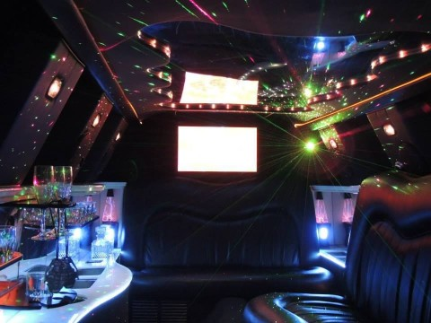 1998 Lincoln Town Car Custom limo twin axel for sale
