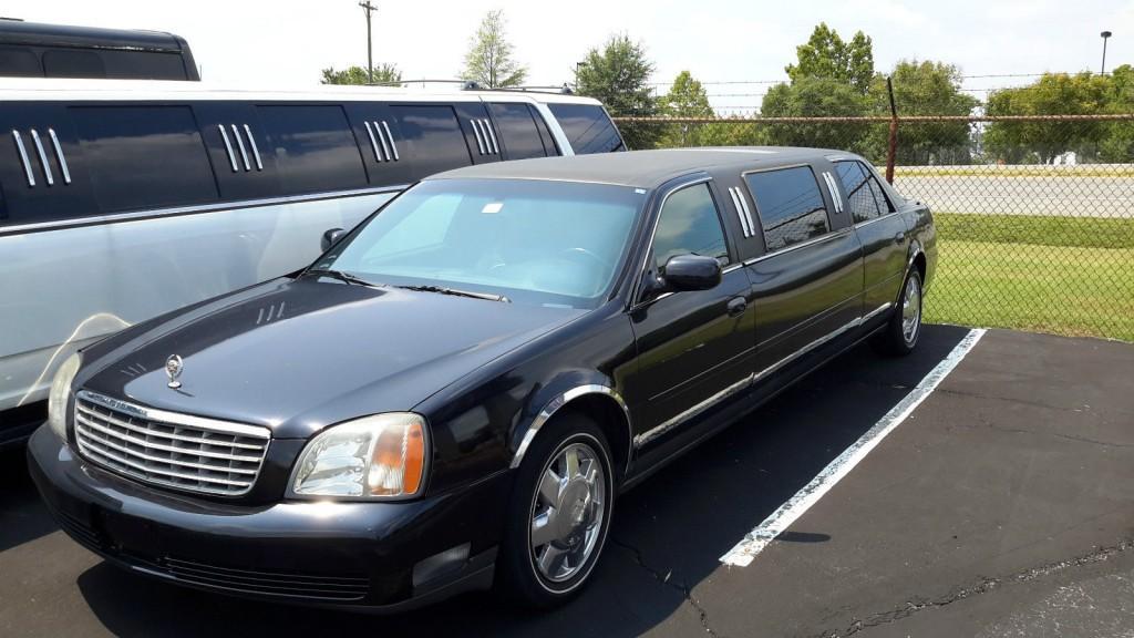 Cadillac Deville Limousines For Sale X