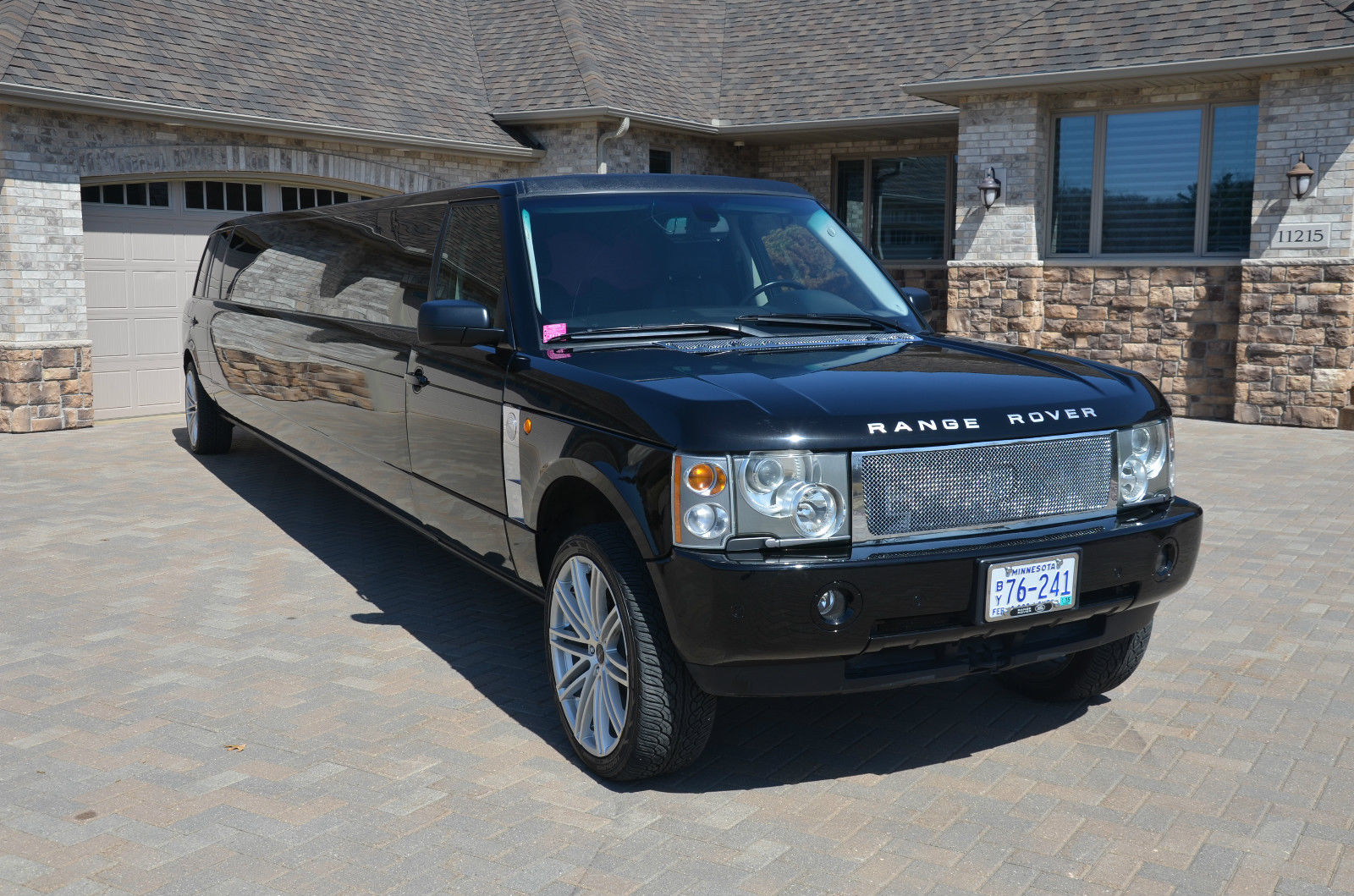 2005 land rover range rover stretch suv limo for sale. Black Bedroom Furniture Sets. Home Design Ideas