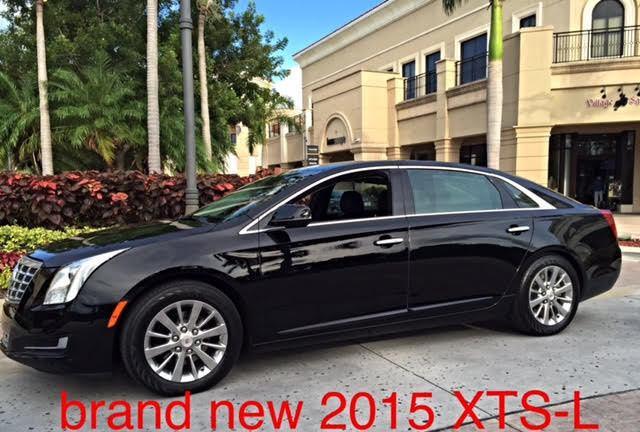 2015 Cadillac XTS LIVERY Brand NEW 7″