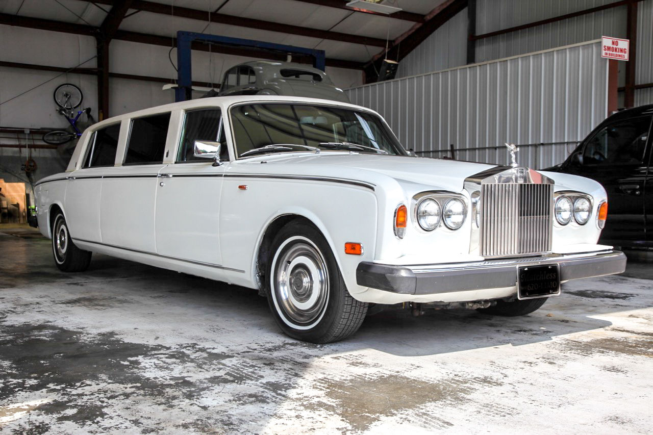 1974 rolls royce silver shadow limousine for sale. Black Bedroom Furniture Sets. Home Design Ideas