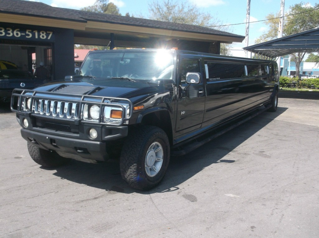 2003 Hummer H2 Limousine Strecthed BY Pinnicale 240″ 22 Passenger