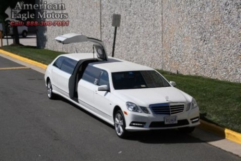 2012 Mercedes Benz E Class benz limo /party bus for sale