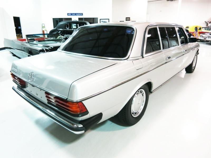 1984 mercedes benz 300 series lwb limousine for sale for Mercedes benz limo for sale
