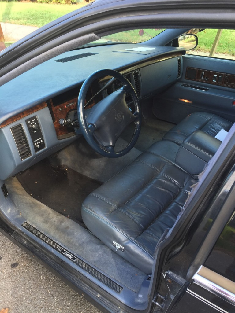 1996 Cadillac Fleetwood brougham limousine