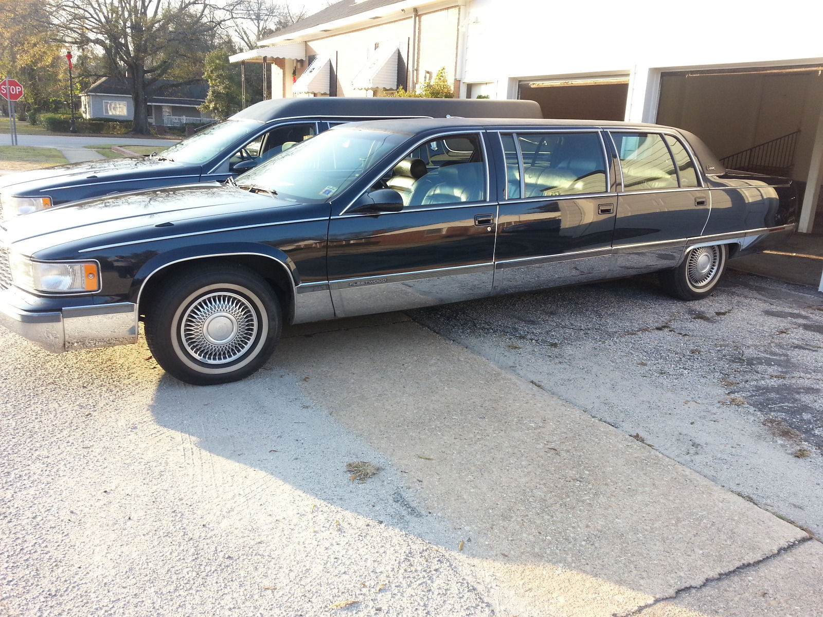 1996 cadillac fleetwood limousine limousines for sale