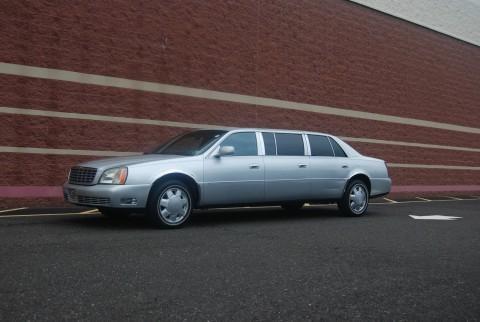 2000 Cadillac DeVille Silver Limousine for sale