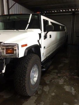 2005 Hummer H2 Limousine 205″ Super Stretch for sale