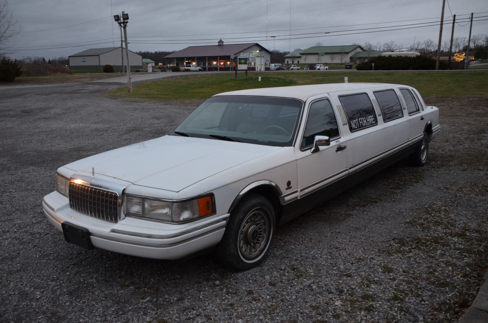 1993 Lincoln Town Car Stretch Limosine For Sale
