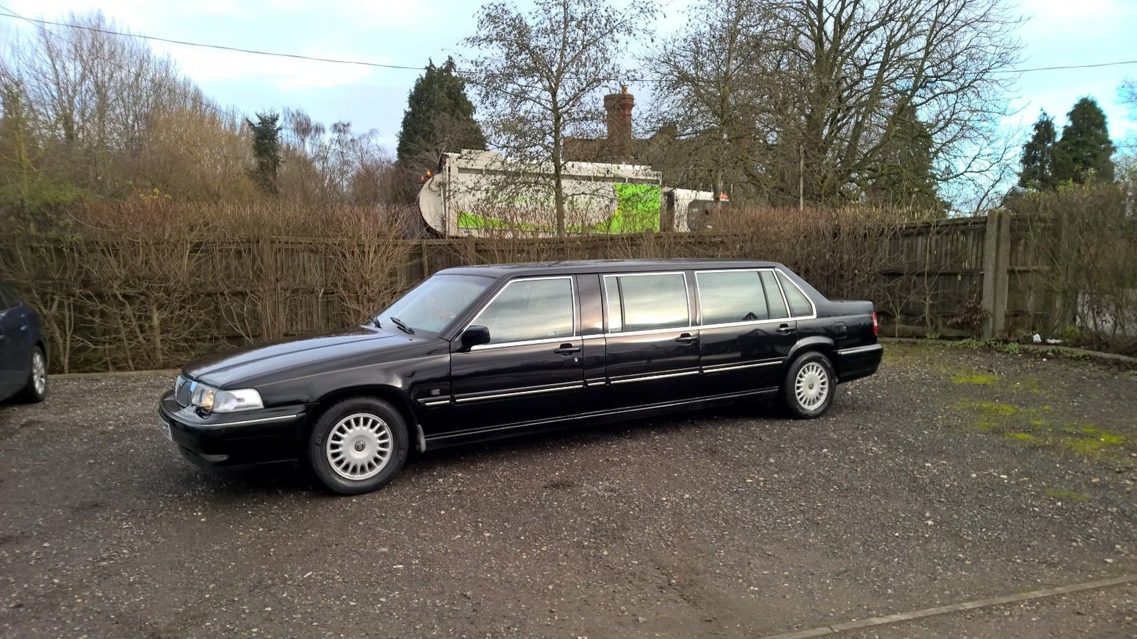 2001 Volvo Limousine Factory Nilsson Built Limo For Sale