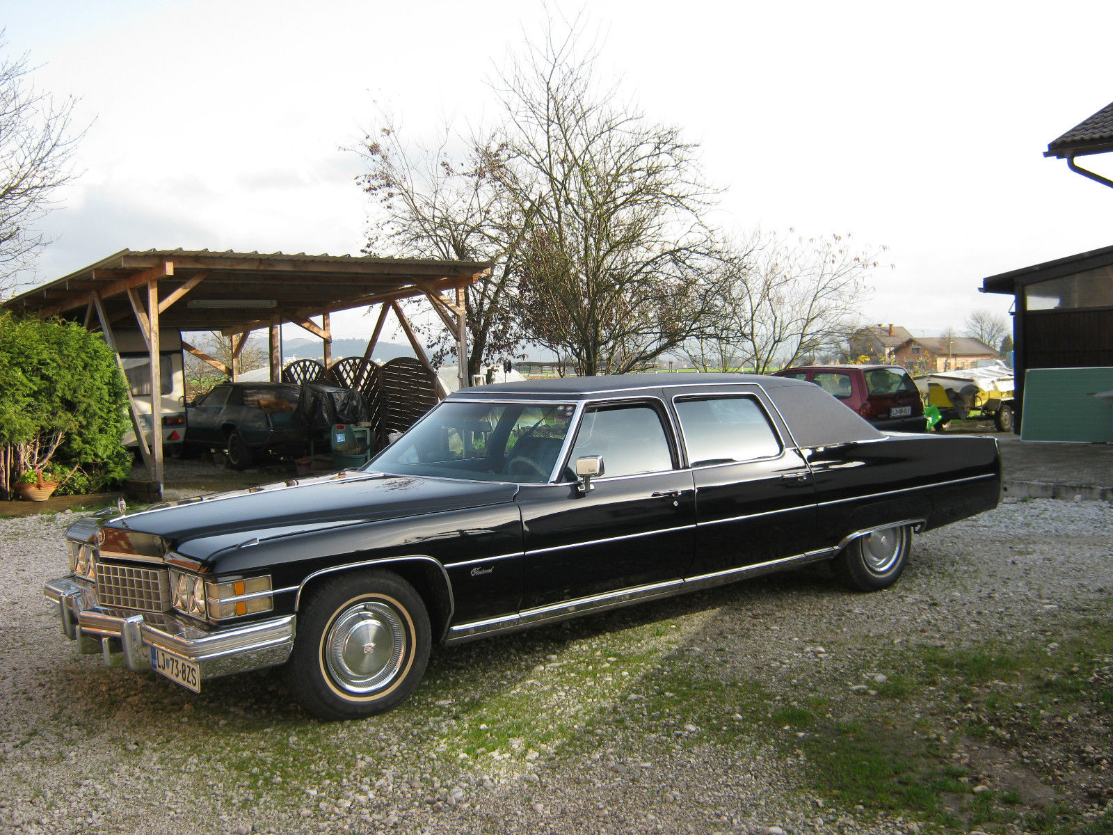 1974 Cadillac Fleetwood Limousine For Sale