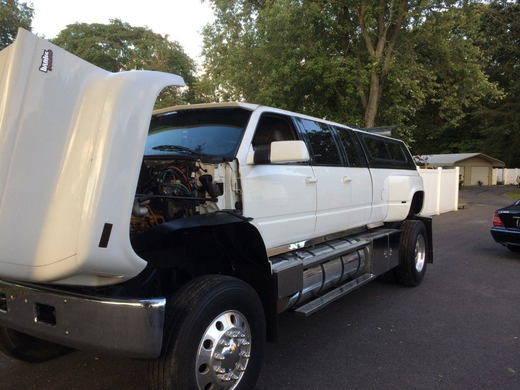 How To Rebuild Automatic Transmission >> 1997 GMC Chevy Topkick Limousine Hauler Custom for sale
