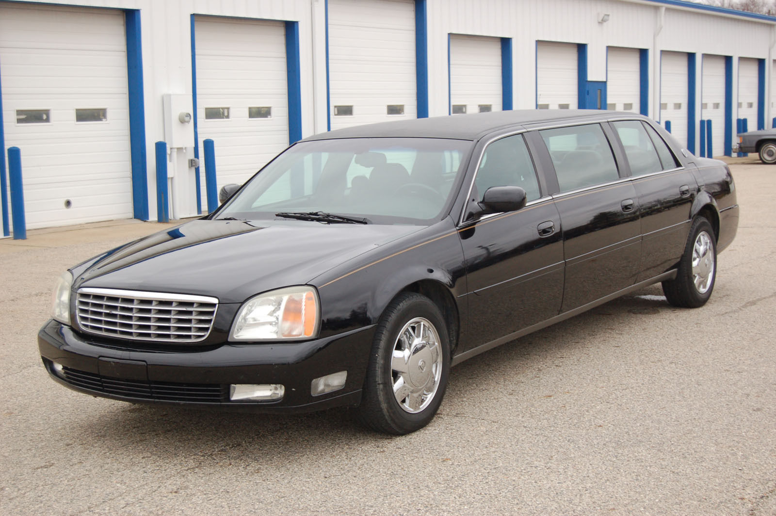 2002 Cadillac Deville Limousine Six Door Limousine by Sayers and Scovill for sale