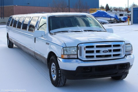 2003 Ford Excursion stretch limousine for sale
