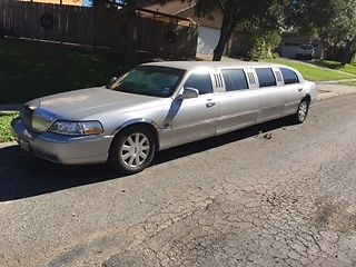 2003 Lincoln Continental 6 door limousine for sale