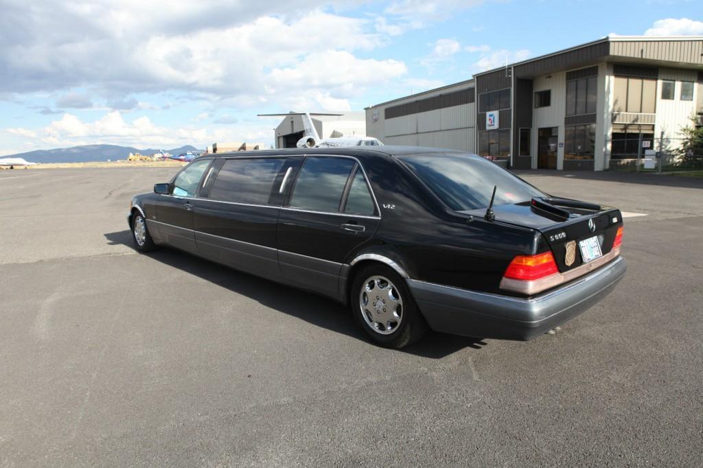 1995 mercedes benz s600 v12 limousine for sale for Mercedes benz s 600 v12
