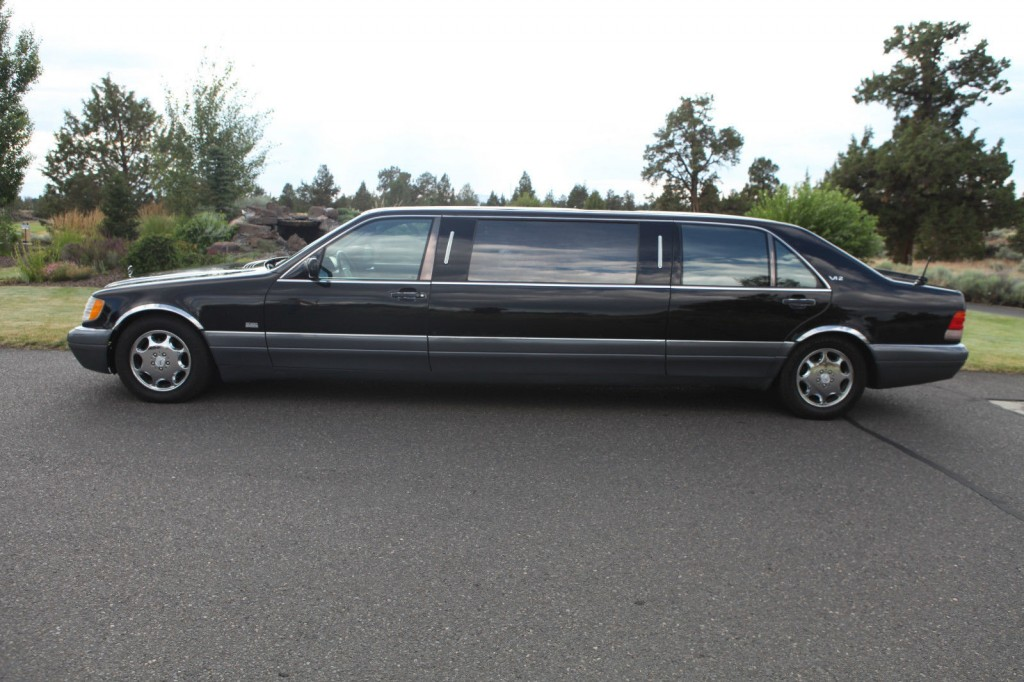 1995 mercedes benz s600 v12 limousine for sale for Mercedes benz limo