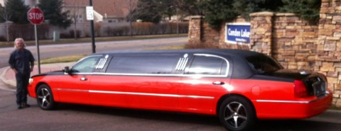 2003 Lincoln Town Car Harley Davidison limo for sale