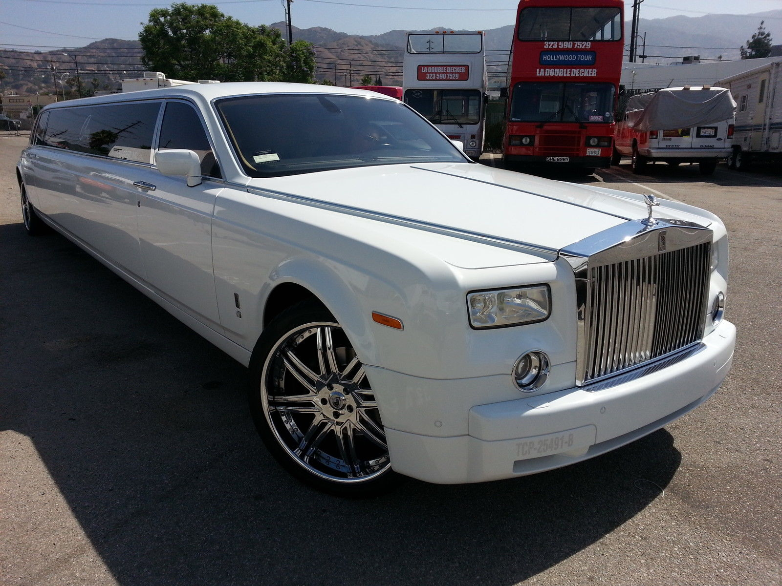 2004 Rolls Royce Phantom Limousine For Sale