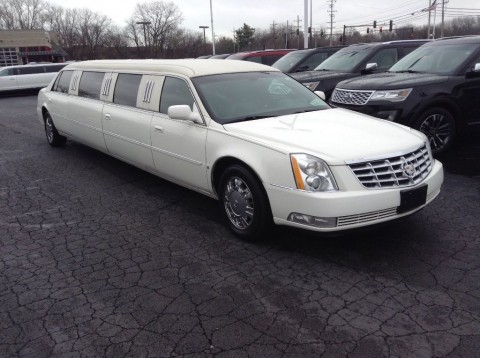 2007 Cadillac DTS 130″ 10 Passenger LCW Limousine for sale