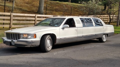 1996 Cadillac Brougham Limo for sale