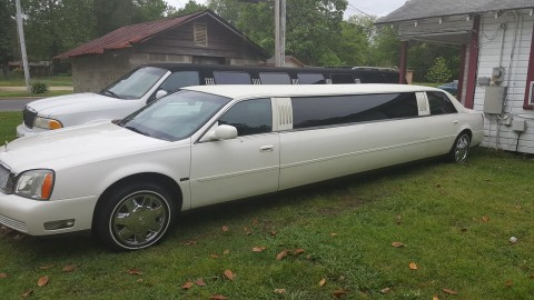 2005 Cadillac DeVille limo for sale