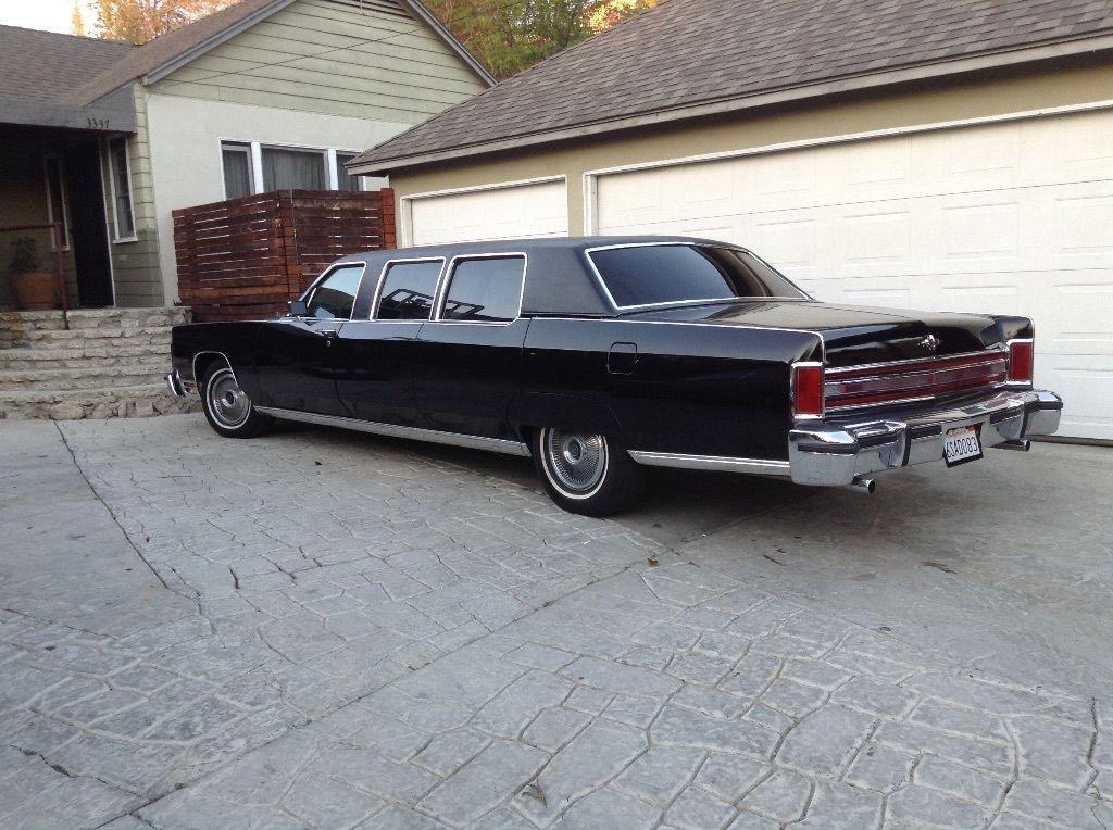 1976 lincoln continental limousine for sale. Black Bedroom Furniture Sets. Home Design Ideas