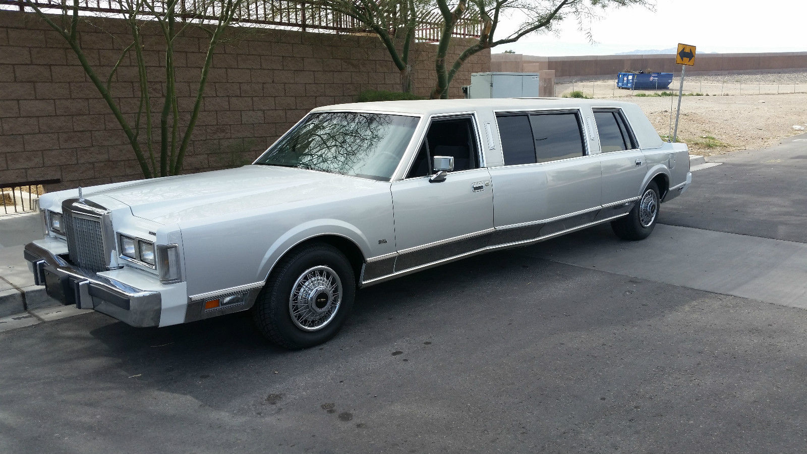 1987 Lincoln Town Car Widebody Limousine For Sale