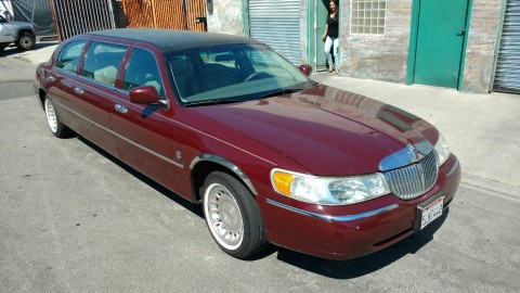 2000 Lincoln Special Built 6 Door Funeral Limousine Federal for sale