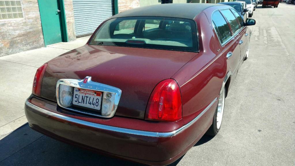 2000 Lincoln Special Built 6 Door Funeral Limousine ...