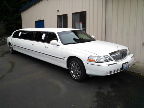2003 Lincoln Town Car 120 Inch Stretch Sedan By Krystal for sale