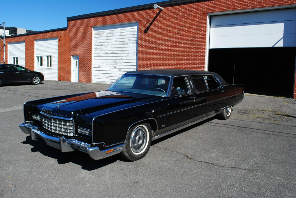 1973 lincoln continental limousine by moloney for sale Lincoln motor company canada