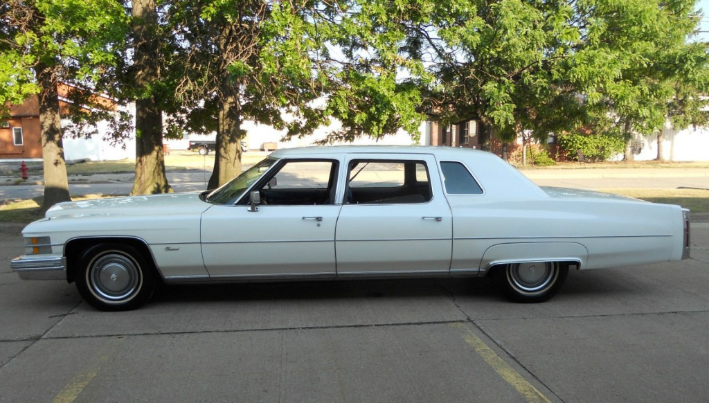 Air Conditioning Not Working In Car >> 1974 Cadillac Fleetwood Limousine for sale