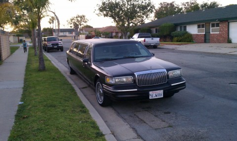1993 Lincoln Town Car Limousine for sale