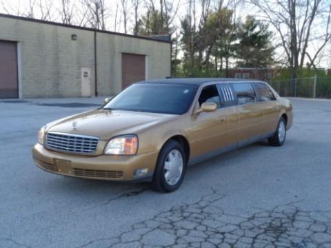 2001 Cadillac DeVille Limousine for sale