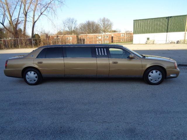 2001 cadillac deville limousine for sale. Black Bedroom Furniture Sets. Home Design Ideas