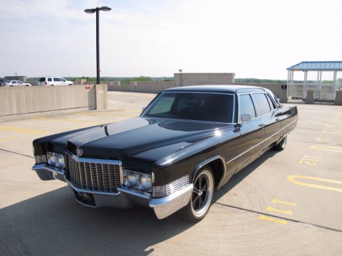 1970 Cadillac Fleetwood Custom Limousine for sale