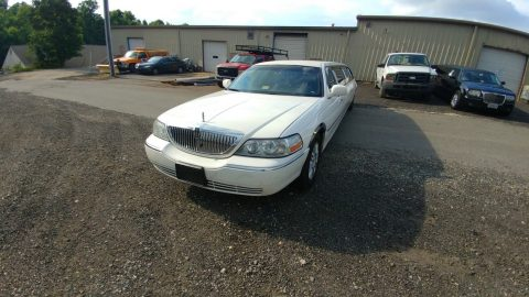 Garaged 2004 Lincoln Town Car Signature Debryan Coach limousine for sale