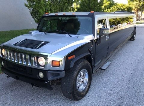 Lots of updates 2006 Hummer H2 limousine for sale
